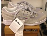 REEBOK WORKOUT IS NEW WITH TAGS AND BOX CHEAP £30 ONO