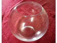 Fish Bowl Vase - LIKE NEW