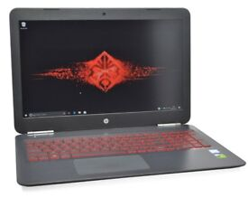 HP Omen 15 IPS Gaming Laptop: GTX NVIDIA 1050, 128GB & 1TB, 2019 Warranty