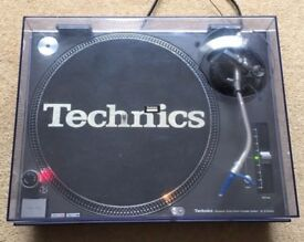 1 X Technics SL-1210 MK3 M3D Turntable With Original Lid & Ortofon Needle