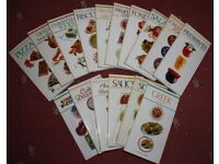 Cookery Books - set of 16 books, Ted Smart (publisher)
