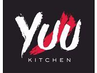 Servers wanted. YUU Kitchen Ltd - A modern Asian Fusion Restaurant - Server