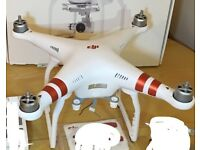 Dji Phantom 3 Standard faulty for spares and repairs. WORKING and FLIES