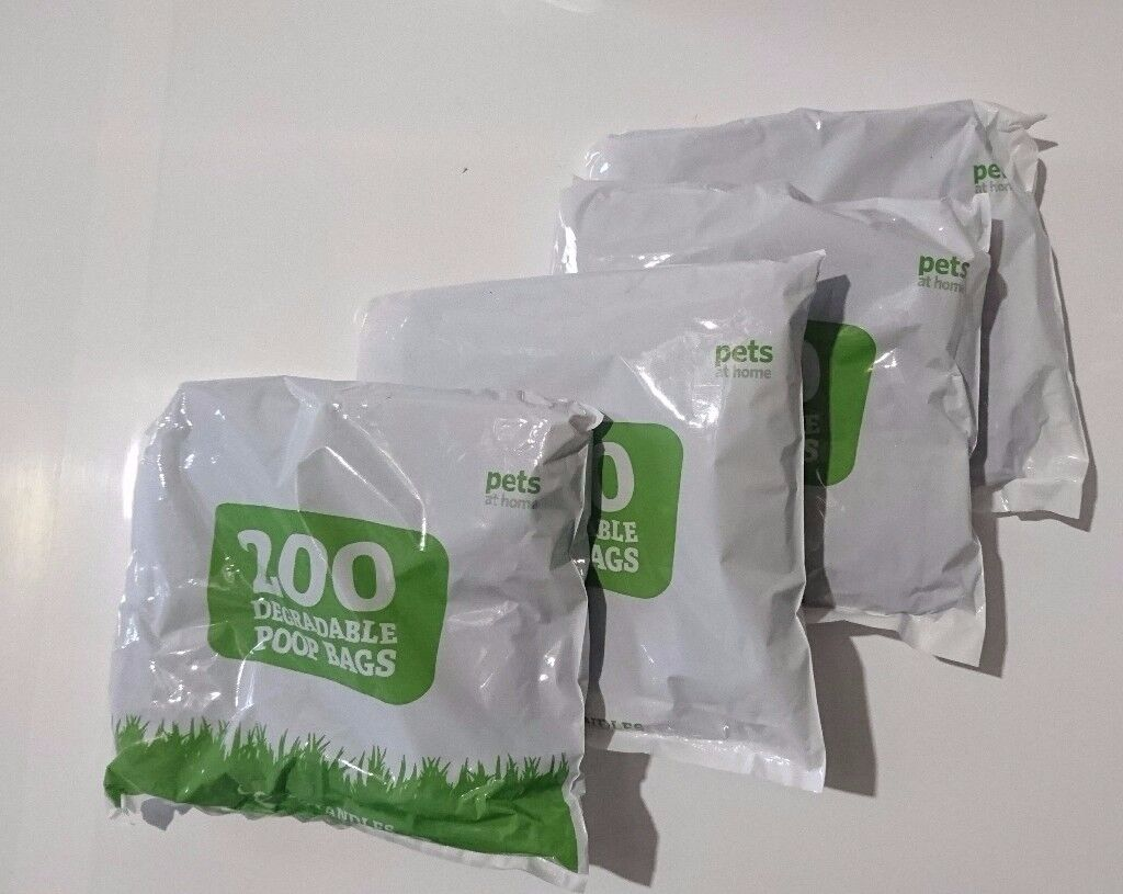 Pets at Home Biodegradable Poop Bags 4x 200 packs