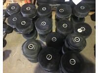 Pulse Commercial gym dumbbells 7 pairs 15-35kg strength training workout