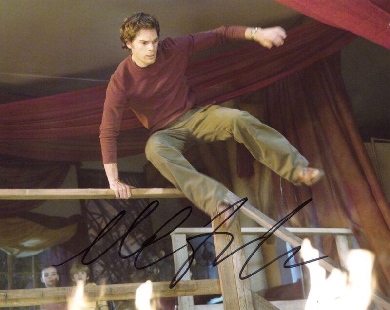 "Michael C. Hall ""Dexter"" AUTOGRAPH Signed 8x10 Photo ACOA"