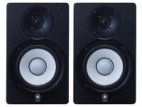 Yamaha HS 50M Powered Monitor Speakers (Pair) Max 70 Watt