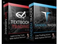 Tandem Trader DVD Course BY Investors underground (Nathan Michaud )