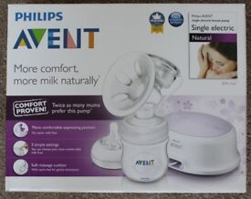 Philips Avent Single Electric Breast Pump (Express Milk Easily)
