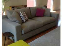 Large comfortable 3-seater Contemporary Sofa