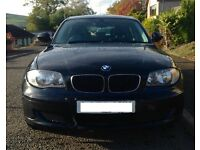 LOW PRICE. Powerful and economical diesel 5 door BMW 1 series. VGC. 1 year MOT.