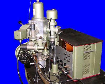 Balzers Evaporator Mba-3 Pv 52h Welch 1407 Vacuum Pump