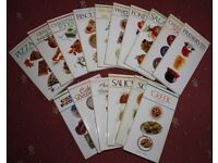 Ted Smart (publisher) cookery books - set of 16 books