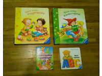 4 German Kids/Toddler Books – Deutsche Kinderbücher