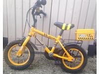 "apollo 12"" wheel builder theme children's bike"