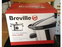 URGENT! Breville 3.5 litre capacity slow cooker, in great condition. Available ASAP