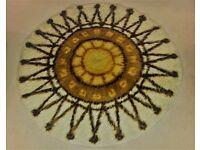 1970s vintage Rya rug