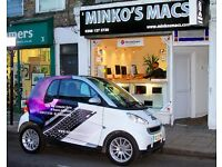 EXPERIENCED IT APPLE PC COMPUTER MOBILE PHONE TABLET REPAIR SALES TECHNICIAN JOB @ MINKO MACS LONDON