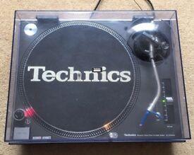 1 X Technics SL-1210 MK3 M3D Turntable With Original Lid & Ortofon Needle