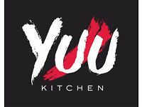 Commis Chefs wanted. YUU Kitchen Ltd - A modern Asian Fusion Restaurant