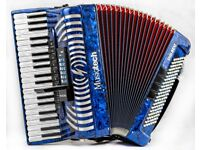 New Musictech Digibeat - Reedless Accordion with Rhythm & Sounds Built in - Super Light Weight 5.2kg