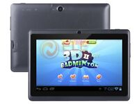 """Brand New Fully Loaded Kodi A33 Android4.4.4 Quad-core 24GB 7"""" Tablet With Case & Keyboard"""