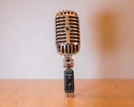 Stagg 50's Style Dynamic Stand Mounted Microphone