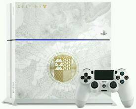 PS4 DESTINY LIMITED EDITION WITH ACCOUNT