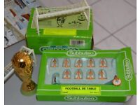9 VINTAGE subbuteo teams in the early 80s and the VINTAGE World Cup trophy made and sold in FRANCE