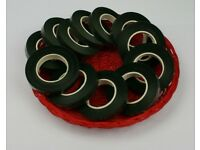 400 + Green Florists Stem tape