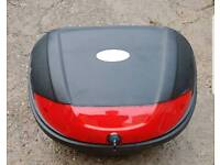 Motorbike top box with key and brackets collection from Long Eaton
