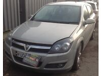Vauxhall Astra H 1.7 CDTI Z1RU 66000 miles breaking for spares.