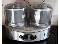 Cuisineart ICE40BCU Ice Cream Maker Duo - Silver