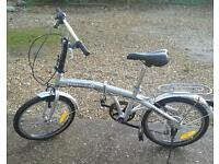 Pair of adult folding bikes in excellent condition
