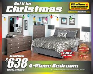 BRAND NEW Bedroom Set-Canadain Made