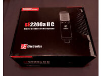 Unopened SE Electronics sE2200a II C Studio Condenser Microphone