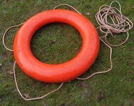 "Perrybuoy lifebuoy / life ring buoy. Plastic 30"""
