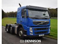 Volvo FM11 450HP 6x2 Sleeper Cab Tractor Unit