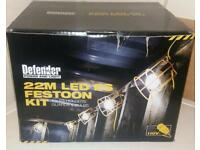 LED Festoon Kit - 110v (22m Cable)