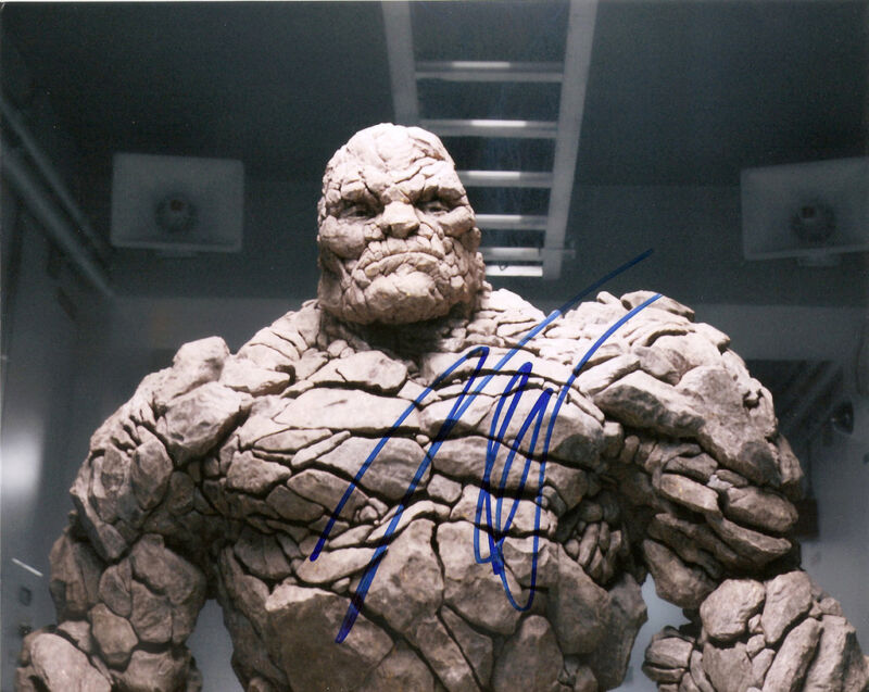 JAMIE BELL GENUINE AUTHENTIC SIGNED FANTASTIC FOUR 10X8 PHOTO AFTAL UACC [11790]
