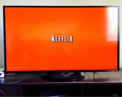 "Sony Bravia ""55"" inches 3D LED Full Smart YouTube Netflix Apps WiFi TV"