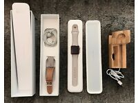 Apple Watch Sport 42 mm Space 1st Generation - MINT CONDITION IN PACKAGING + EXTRAS