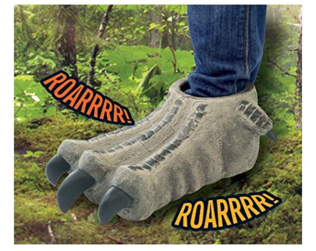 Walking with Dinosaurs stomping feet sound toy