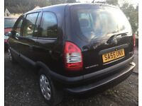 2005 VAUXHALL ZAFIRA 1.6 PETROL 7 SEATS+FULL VOSA HISTORY+TIMING BELT REPLACED+HPI CLEAR** BARGAIN