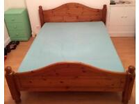 FOR SALE: King Size Bed Frame With Mattress