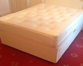 KingSize Divan Bed With Draws in Excellent Condition