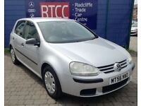 2006 (56 reg), Volkswagen Golf 1.6 FSI S 5dr Hatchback, AA COVER & AU WARRANTY INCLUDED, £1,895 ono