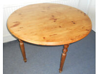 Solid Pine Kitchen or Dining Table - to paint