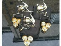 Shakespeare mach 3 reels