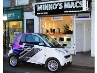 EXPERIENCED REPAIR APPLE PC MOBILE COMPUTER TECHNICIAN / SALES ADVISOR @ MINKO'S MACS LONDON STORES
